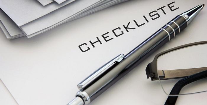 Work & Travel USA Checkliste